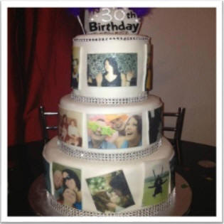 Cake Photo Printing Uk : Only ?1.95 for An A4 Sheet - Eat My Face .co.uk - Photo ...
