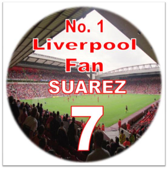 Liverpool Fc Birthday Cake Topper