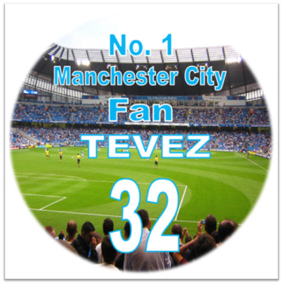 Details about Personalised MANCHESTER CITY Fan Birthday Cake Topper