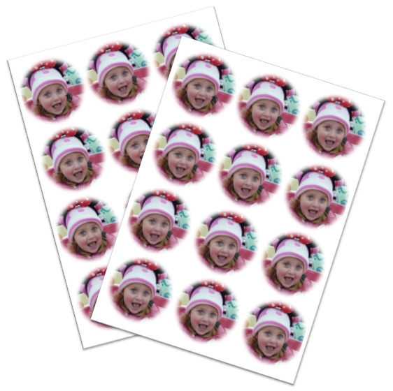 Cake Toppers Edible Uk : Only ?1.95 for An A4 Sheet - Eat My Face .co.uk - Photo ...